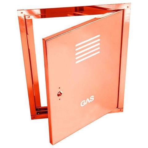 Sportello portello porta rame per contatore gas, misura 45x70cm