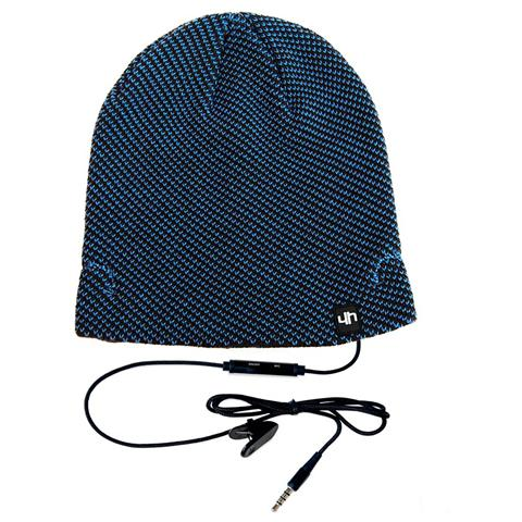 HI-FUN Hi-Head Cappello Musicale - Colore Blu