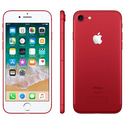Apple iPhone 7 256 GB Rosso (Ricondizionato SILVER)
