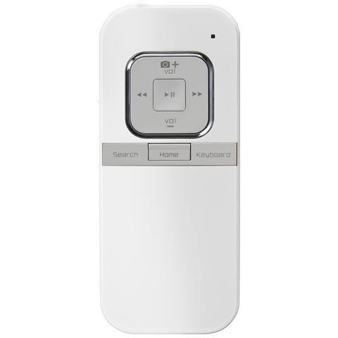 KENTRON Mini Tastiera Telecomando Bluetooth per IOS Bianco KEICONTROL