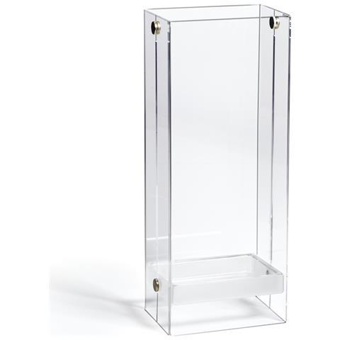 Emporium Portaombrelli Ikeda Metacrilato Bianco Satinato Componenti D'arredo Design