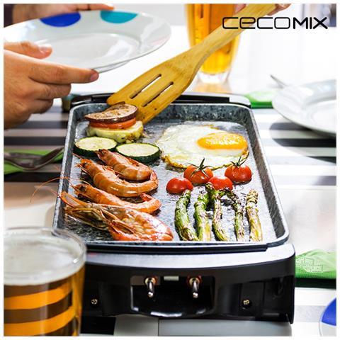 Piastra Da Cucina Cecomix Rock 2000 3045 1600w