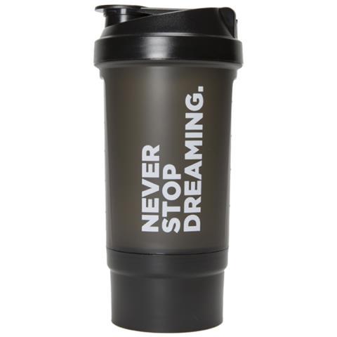 Shaker Con Scompartimenti Never Stop Dreaming. 500 ml.