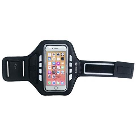 "SANDBERG Sport Armband LED 4.7"" Fascia da braccio Nero"