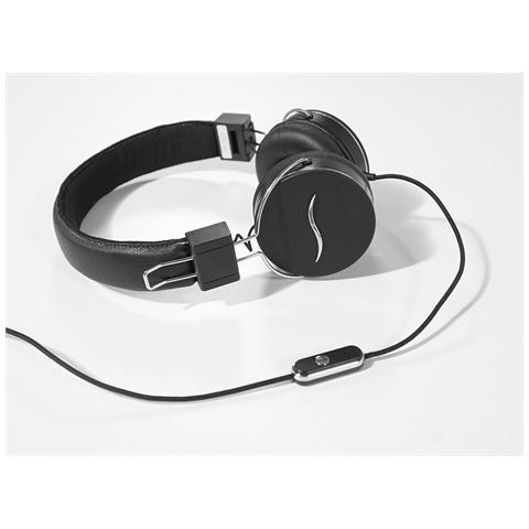 HI-FUN Cuffie Hi-Deejay On-Ear con Control Talk Colore Nero
