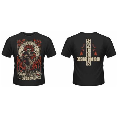PHM Opeth - Haxprocess Front & Back Print (T-Shirt Unisex Tg. L)