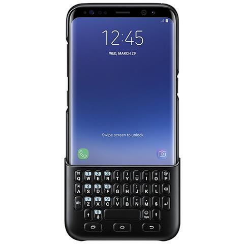 SAMSUNG Cover con Tastiera in Policarbonato per Galaxy S8 Colore Nero
