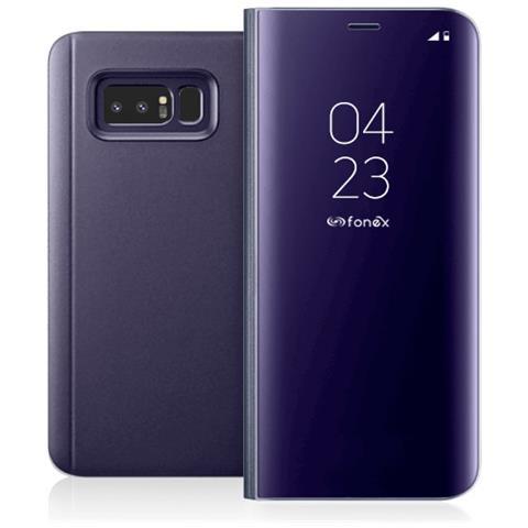 FONEX Flip Cover Custodia Sky per Galaxy Note 8 colore Viola