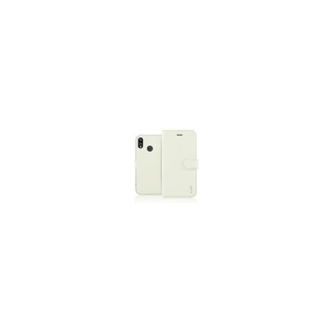 FONEX Identity Book Custodia a Libro per Huawei P20 lite Colore White Sand