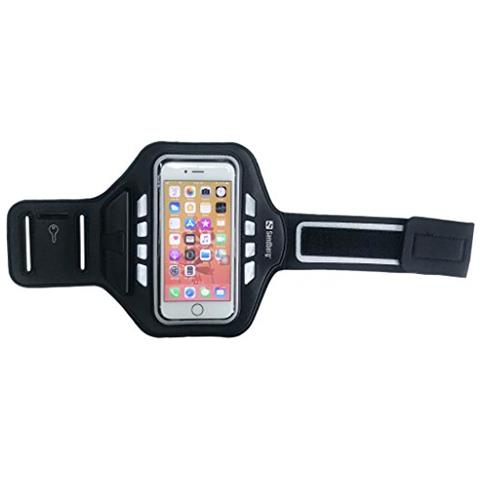 "SANDBERG Sport Armband LED 5.5'' 5.5"" Fascia da braccio Nero"