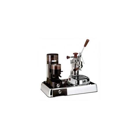 Set Macchina da Caffè Europiccola ELH + Macinacaffè JDL + Base Cromata