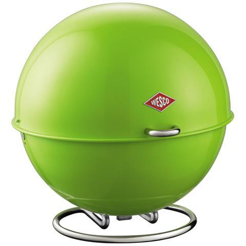 WESCO Contenitore Superball per Pane Frutta Verdura Biscotti Verde 26 cm