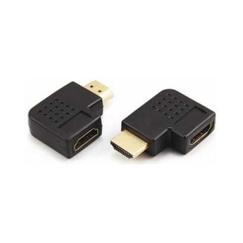 ADJ Adattatore ADJ da HDMI F a HDMI M angolo retto nero