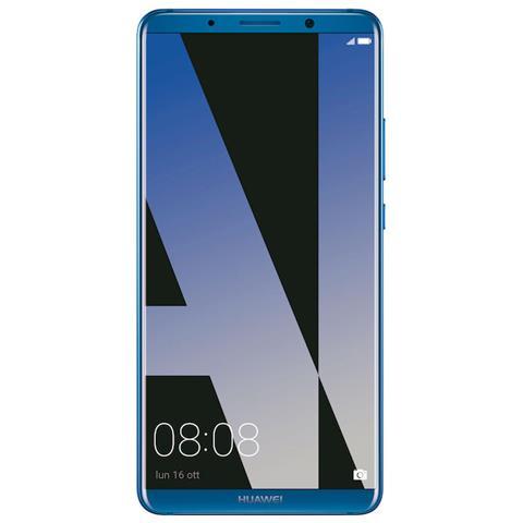 "HUAWEI Mate 10 Pro Blu 128 GB 4G / LTE Dual Sim Display 6"" Full HD Fotocamera 20 Mpx Android Italia"