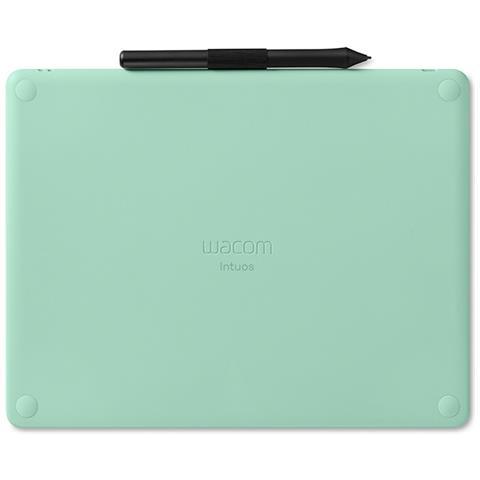 Image of Intuos M Bluetooth 2540lpi (linee per pollice) 216 x 135mm USB / Bluetooth Nero, Verde tavoletta grafica