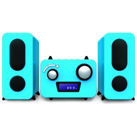 BIGBEN Sistema Micro Interactive Sistema 2.0 AUX Colore Blu