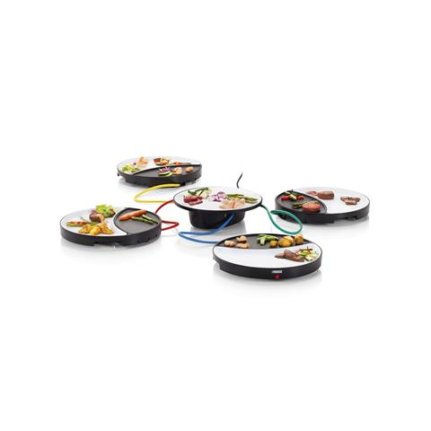 Dinner4All Grill Piastra in Ceramica Potenza 250 Watt