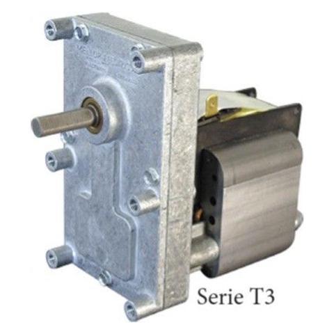 Motoriduttore Per Stufa A Pellet T3 1,5 Rpm Pacco 25mm Albero 8,5mm Fb1222 Spianato