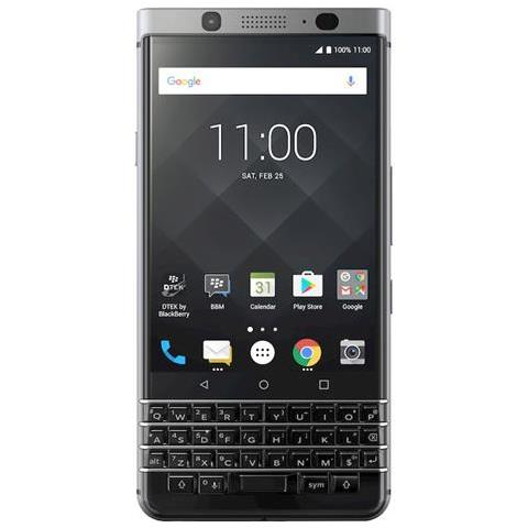 "BLACKBERRY KeyOne Argento 32 GB 4G / LTE Display 4.5"" Full HD Slot Micro SD Fotocamera 12 Mpx Android Tim Italia"