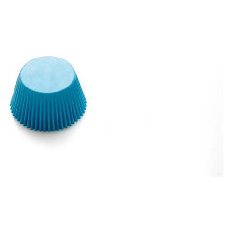 Decora Confezione 75 pirottini in carta colorati azzurri 50 x 32mm