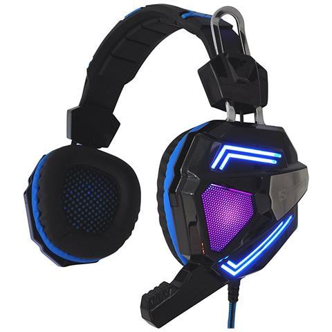 SANDBERG Cuffie con Microfono Cablato Cyclone Colore Nero Blu