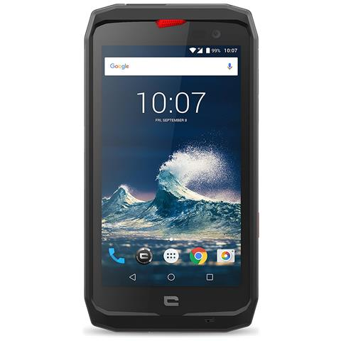 "CROSSCALL Action X3 Nero / Rosso 32 GB 4G / LTE Impermeabile Display 5"" HD Slot Micro SD Fotocamera 12 Mpx Android Tim Italia"