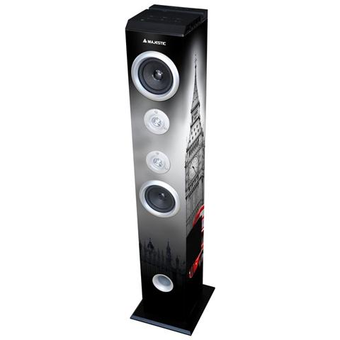 MAJESTIC Diff. A Torre 60w Bt Fm Usb Sd Aux Mj Tower Uk