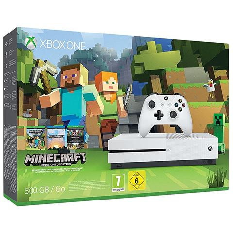 Image of Console Xbox One S 500 Gb + Minecraft Limited Bundle