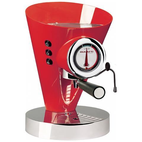 Macchina Caffè Espresso Manuale Diva Evolution Capacità Serbatoio 0,8 Litri Potenza 1700 Watt Colore Rosso