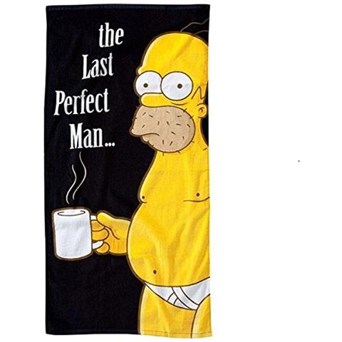 UNITED LABELS Asciugamano Telo Mare Simpsons Beach Towel The Last Perfect Man 75 X 150 Cm
