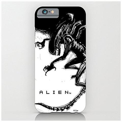 GEEK STORE Alien Per Iphone 6 Plus Case Xenomorph Black E White Comic