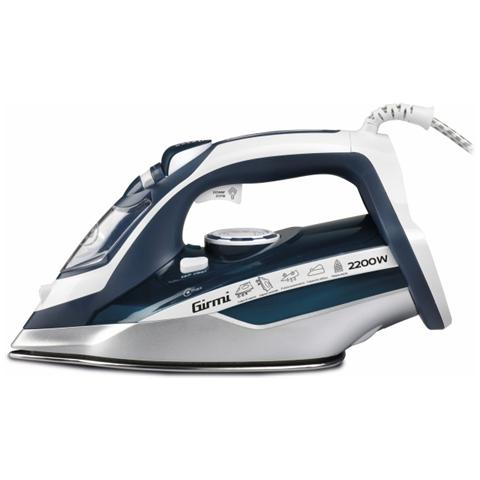 GIRMI ST60 Ferro da Stiro a Vapore Potenza 2200 Watt Colore Blu