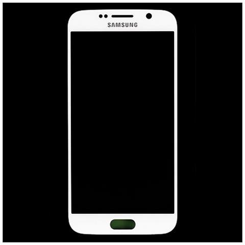 Image of Lcd Touch Screen E Vetro Completo Bianco Per Galaxy S6 G920