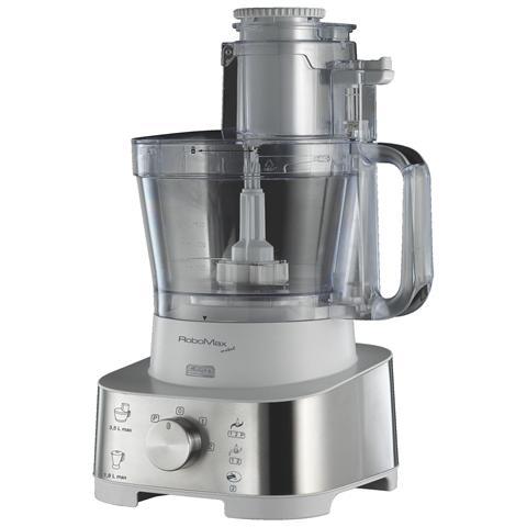 Robomax Metal Robot da Cucina Capacità Ciotola 3,5 l Potenza 2000 W