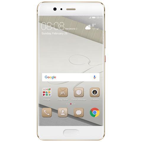 "HUAWEI P10 Oro 64 GB 4G / LTE Display 5.1"" Full HD Slot Micro SD Fotocamera 20 Mpx Android Italia"