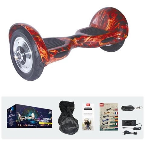 Image of 10 Pollici Hoverboard Smart Balance Monopattino Elettrico Pedana Scooter Bluetooth Due Ruote Con Lithium Batteria Fire