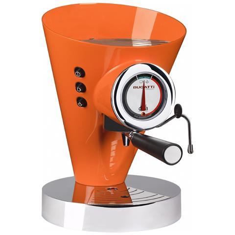 Macchina Caffè Espresso Manuale Diva Evolution Capacità Serbatoio 0,8 Litri Potenza 1700 Watt Colore Arancione