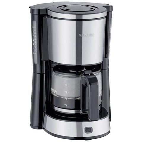 """KA 4822 """"""""TYPE"""""""" Macchina per il caffè Acciaio, Nero Capacità tazze= 10"""