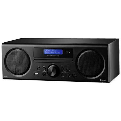 SCHNEPEL DA310, Personale, Digitale, 50/60, DAB+, FM, AC