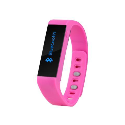TECHNAXX TX-37 Fitness Classic con connessione Bluetooth per Attività Fisica e Sonno Android e iOS - Rosa
