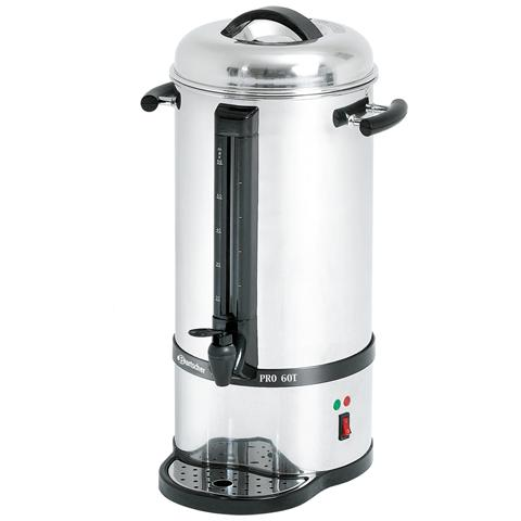 Percolatore per caffè in acciaio inox 60 tazze A190165