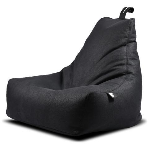 B-BAG Poltrona A Sacco Indoor Mighty-b Charcoal