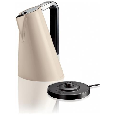 Bollitore Elettrico Vera Easy Capacità 1,7 Litri Potenza 2180 Watt Colore Crema