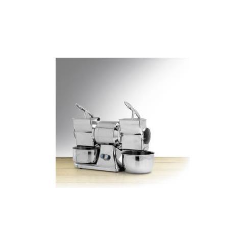 Grattugia Professionale Doppia Inox 750 W Rs1239
