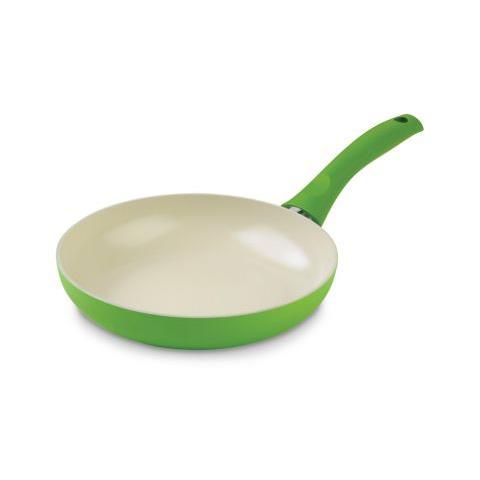 Padella Colori Cucina Ceramic Induction 28 cm in ceramica colore verde