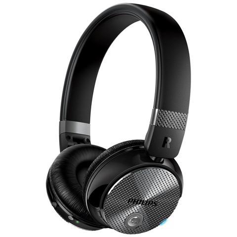 PHILIPS Cuffie Wireless SHB8850NC Bluetooth colore Nero