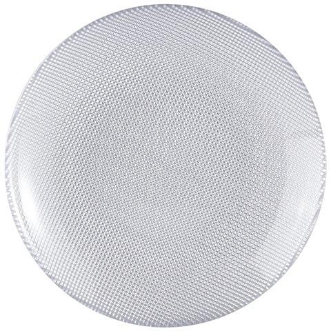EXCELSA Piatto Frutta Diamond argento centimetri 20