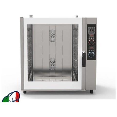 Forno A Convezione + Vapore Diretto A Gas Per Pasticceria - 8 Teglie 60x40- Comandi Programmabili