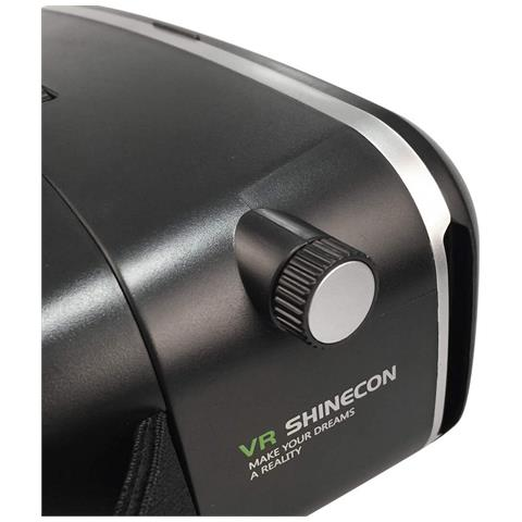 ONEBUTTON VR Shinecon, Basato su smartphone, Nero, Android, iOS