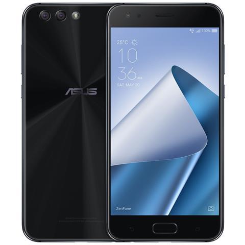 Image of Zenfone 4 Nero Display 5.5'' Full HD Ram 4GB Storage 64GB +Slot MicroSD Wi-Fi + 4G Fotocamera 12 + 8Mpx Android - Tim Italia